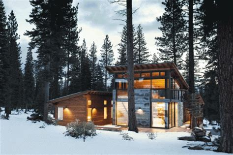 Spectacular Cabin House Designs by 7 Seriously Spectacular Ski Cabins California Home