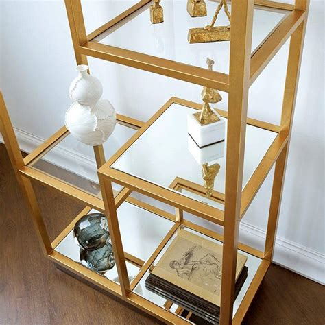 Etagere Translation by Bungalow 5 Haynes Etagere In Gold