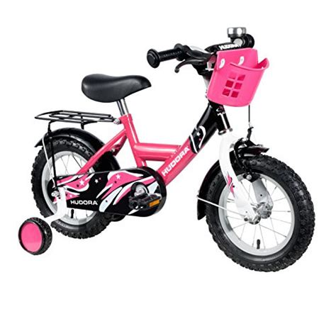 hudora fahrrad 12 zoll hudora kinder fahrrad pink mit st 252 tzr 228 dern fahrrad f 252 r m 228 dchen 12 zoll 10542