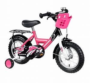 Kinder Fahrrad Mädchen : hudora kinder fahrrad pink mit st tzr dern fahrrad f r m dchen 12 zoll 10542 ~ Orissabook.com Haus und Dekorationen