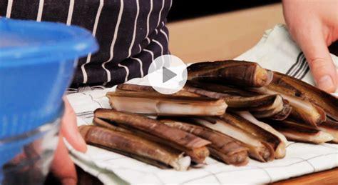 comment cuisiner les couteaux astuce cuisine comment cuisiner des couteaux de mer