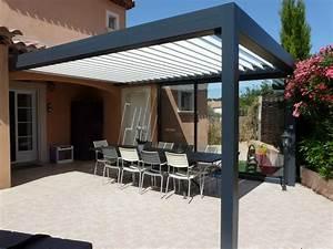 Fabriquer Une Pergola En Alu : pose sur martigues d 39 une pergolas bioclimatiques avec ~ Edinachiropracticcenter.com Idées de Décoration
