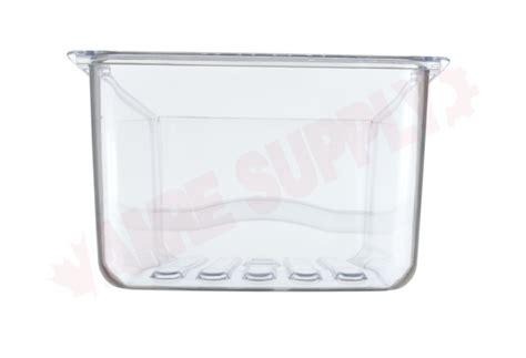 wrl ge refrigerator crisper drawer clear amre supply