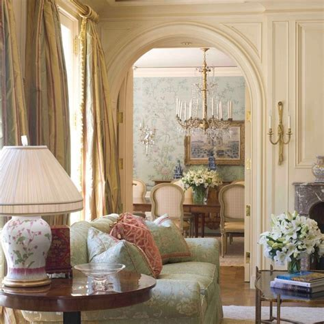 A French Country House   Traditional   Living Room   San
