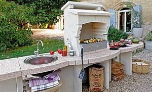 Construire Barbecue Beton Cellulaire : 8 barbecues fixes monter soi m me test s ~ Dailycaller-alerts.com Idées de Décoration