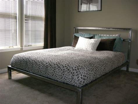 Handmade Welded Platform Bed By Steric Design
