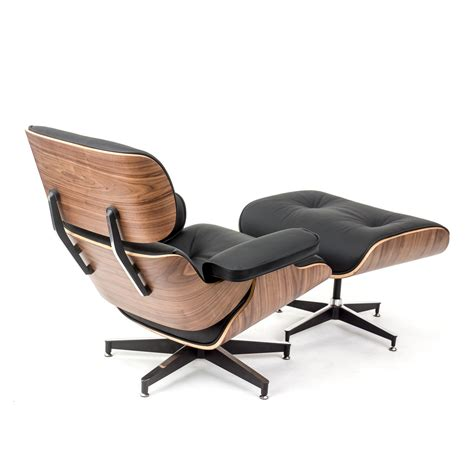 leather lounge chair with ottoman rosewood lounge chair and ottoman black leather replica