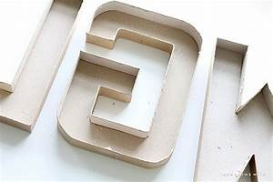 how to make diy marquee letters diy ready With large cardboard marquee letters