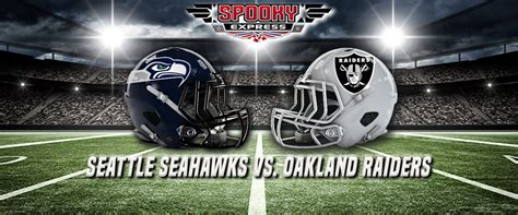 nfl betting preview seattle seahawks  oakland raiders