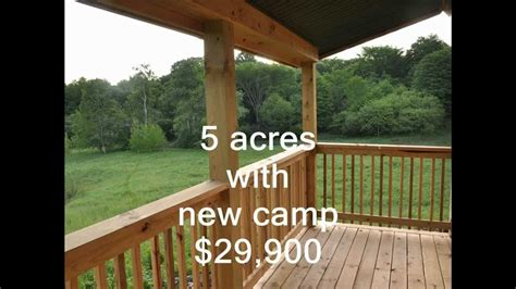 york camps  land  sale  acres ny camp  youtube