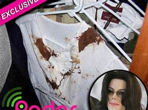 Bloody Shirt Found Inside Michael Jackson's Bedroom ...