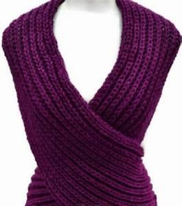 Archivo pdf para chaleco cruzado tejido en dos agujas capa corta capa de hombros bufanda multi