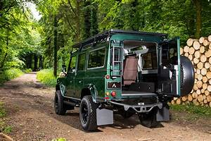 Arkonik U2019s Restored Land Rover Forager D110 Is Very Cool