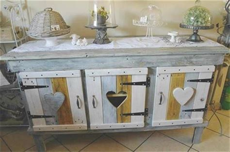 Kitchen Cabinets Made from Pallets   Pallet Wood Projects