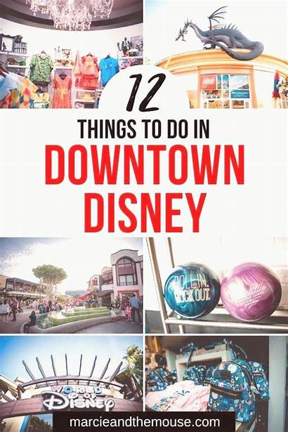 Downtown Disneyland Shopping Disney Anaheim Einkaufen Innenstadt