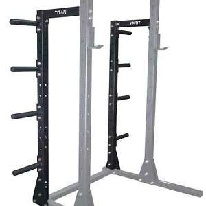 titan   squat stand conversion kit  power rack