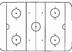 Hockey Rink Blank Practice Plan