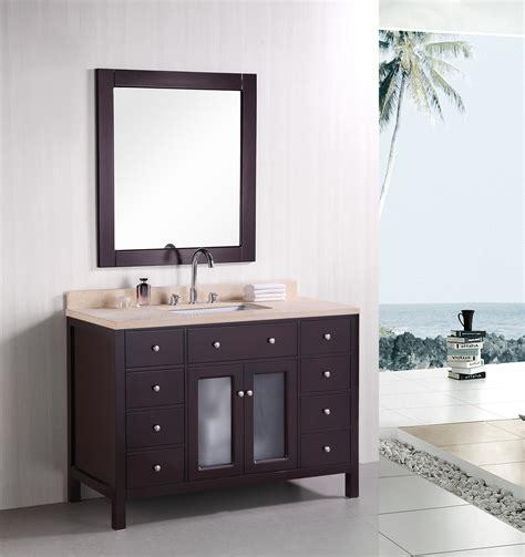 48 Venetian Dec302c Single Sink Vanity Set Bathroom
