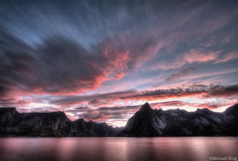 reine norway sunrise sunset times
