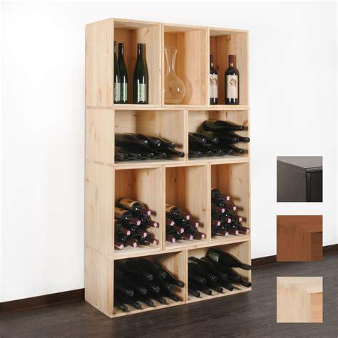 Etagere A Vin Caisse 224 Vins Veneto En Bois De Pin Non Trait 233 201 Tag 232 Re A Vin