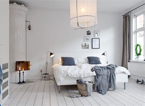 Light And Bright Truly Swedish Bedroom Interior Design