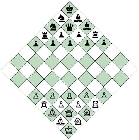 chess layout diagonal chess