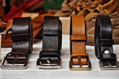 The 3 Types Of Belts You Need To Own