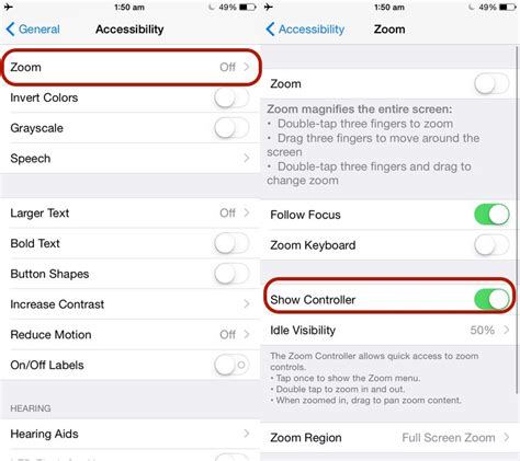 turn accessibility iphone i can help you how to reduce your iphone or s