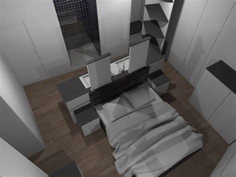 chambre parentale avec dressing et salle de bain faire d 39 une chambre de taille moyenne une suite avec wc