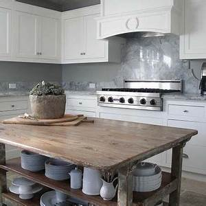 reclaimed wood walls design ideas With kitchen colors with white cabinets with large reclaimed wood wall art