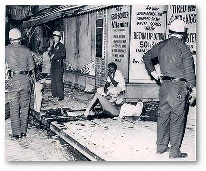 Watts Riot Riots Officer Killing Shot During