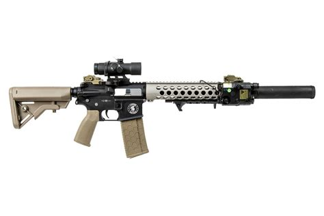 Airsoft GI Custom Dessert Dragon M4 Carbine AEG