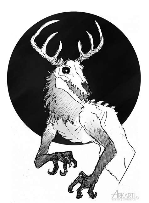 Wendigo art - Tumblr | Fantastical Fantasy Shenanigans ...