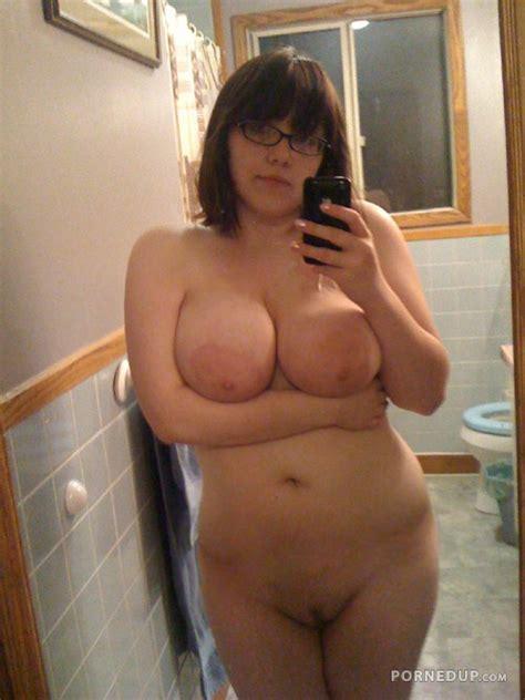 Hot Fat Girl Naked Selfie Porned Up