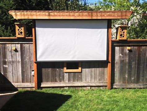 awesome outdoor  screen ideas  summer paperblog