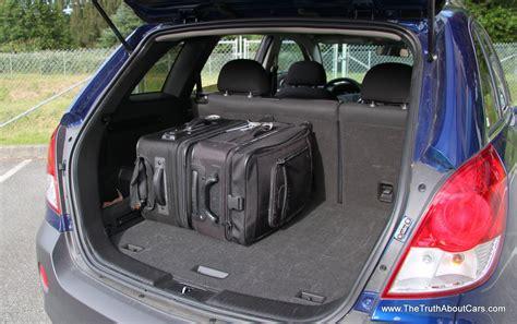 rental car review  chevrolet captiva sport