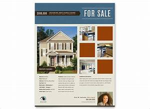 26 modern psd advertising flyer templates free for Real estate advertisement template
