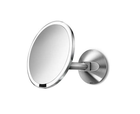 simplehuman wall mount sensor mirror review