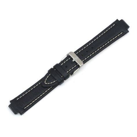 coach watch repair form swiss army 12 19mm black leather watch strap 003535