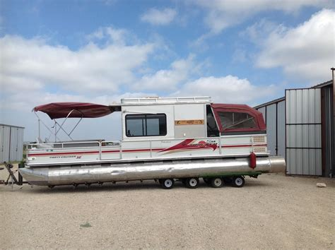 Pontoon Boats With Cabins For Sale by Sun Tracker Barge Signature Series 2000 For Sale