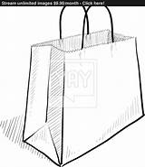 Bag Drawing Paper Shopping Sketch Bags Drawings Vector Yayimages Getdrawings Paintingvalley Clipartmag sketch template