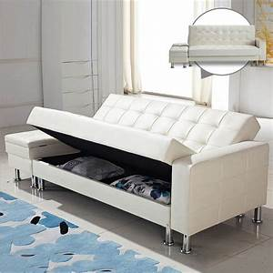 Webetop modern design pu sofa sets multi function lazy for Sofa bed and recliner chair set