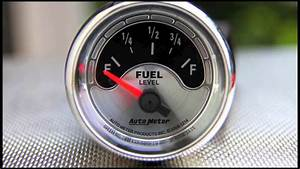 Fuel Level Gauges Autometer How They Work How To Install