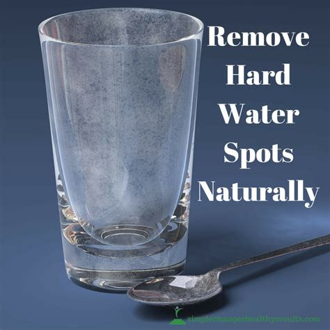 Diy Remove Hard Water Spots From Glass Naturally