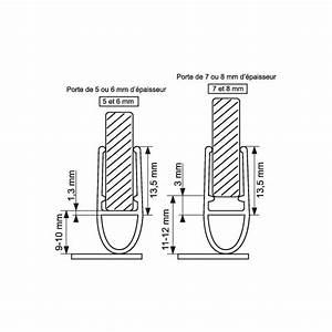 Baguette pvc joint tubulaire bas de porte de douche 1 for Joint bas porte de douche