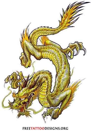 golden dragon tattoos   japanese dragon tattoos dragon tattoo designs chinese dragon