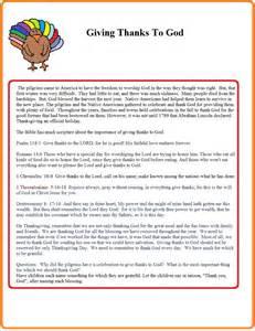 Printable Thanksgiving Sunday School Lessons