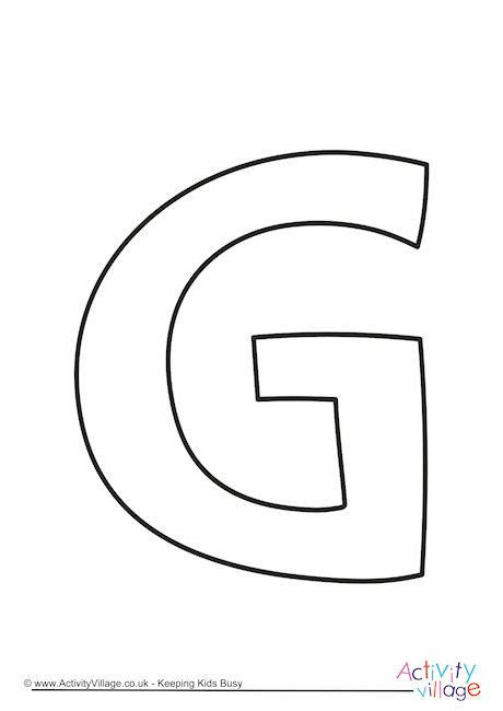 letter g template letter g outline ready screenshoot printable coloring page scholarschair