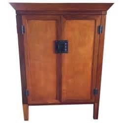 pottery barn media cabinet armoire chairish