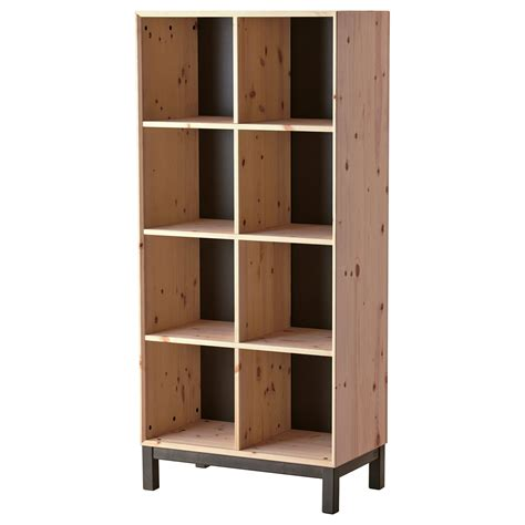 are ikea cabinets durable ikea norn 196 s bookcase untreated solid pine is a